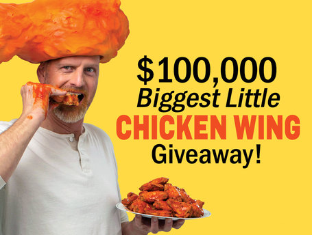 Chicken Wing Giveaway