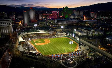 Reno Aces Ballpark in Reno
