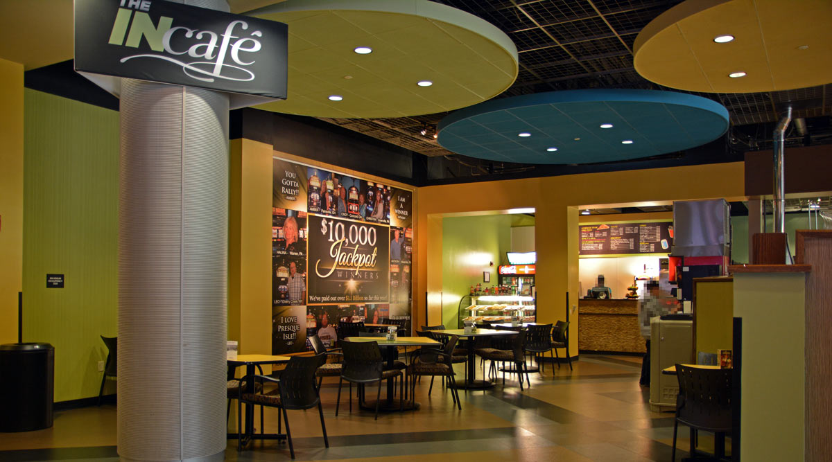 The INClub Cafe at Presque Isle Downs